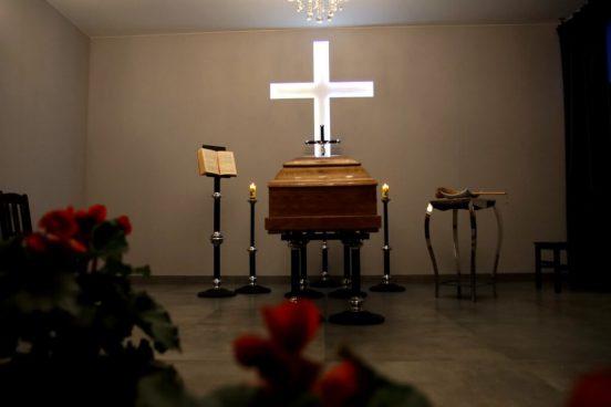 Kaplica - Pogrzeb